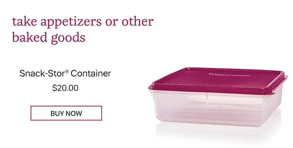 Snack Stor Container