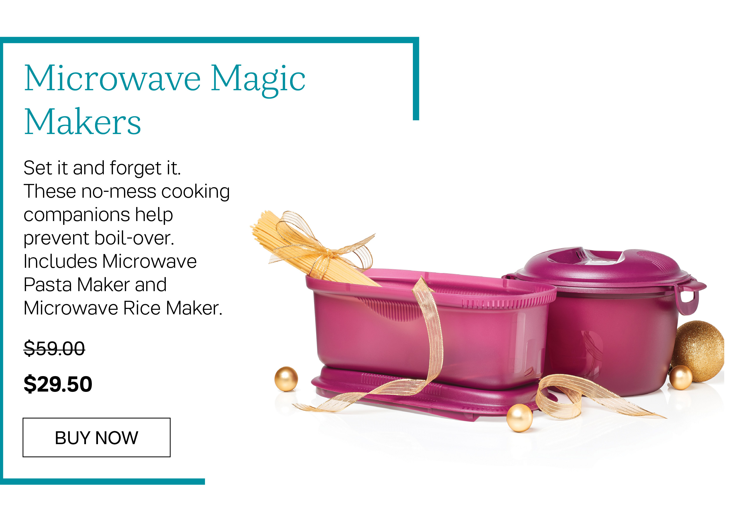 Microwave Magic Makers