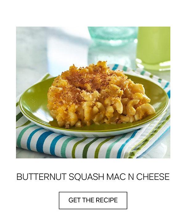Butternut Squash Mac n Cheese