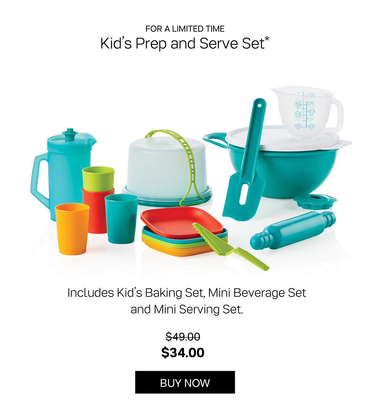 Kid's Prep and Serve Set